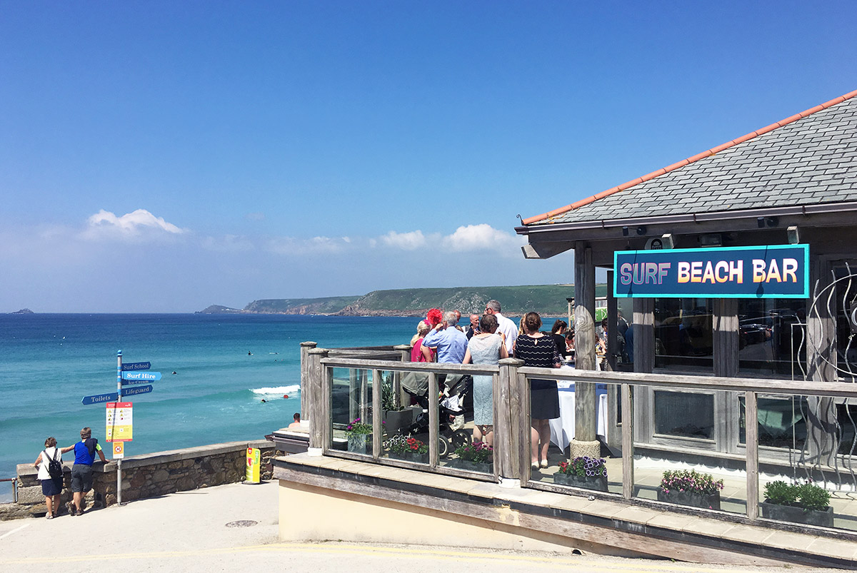 Surf Beach Bar Sennen Cornwall
