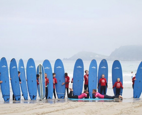 Learn to Surf with Sennen Surfing Centre