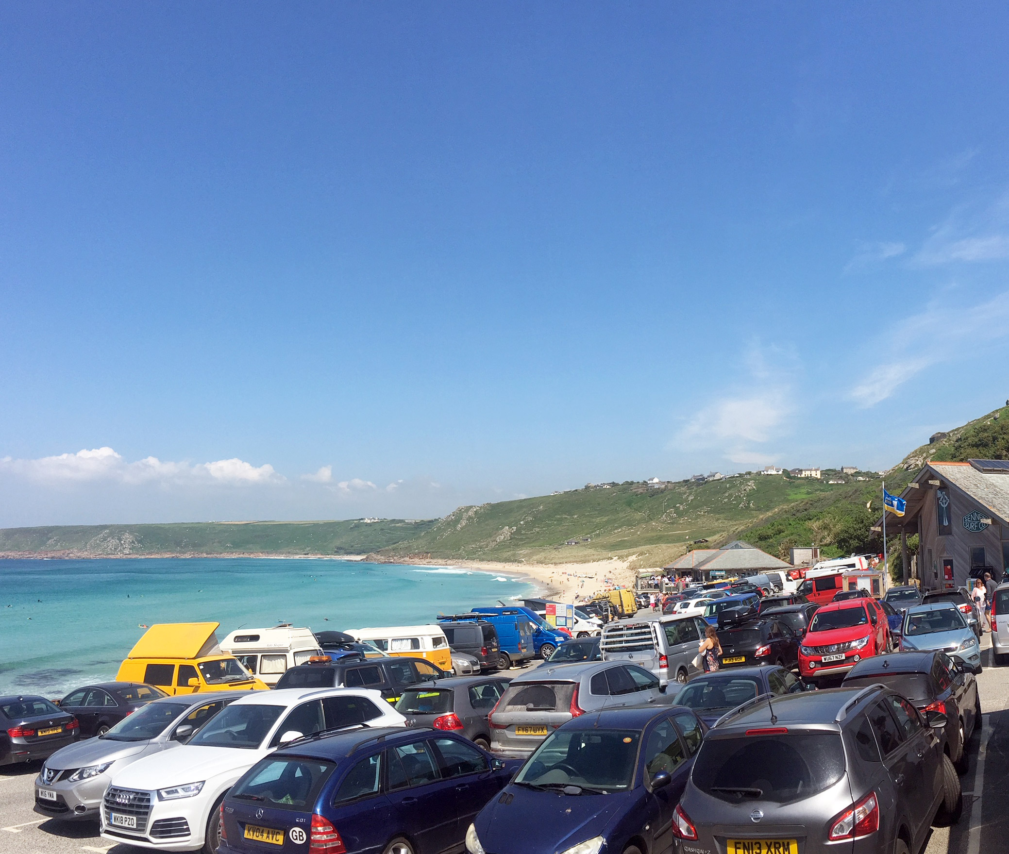 Sennen Beach Car Parking